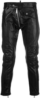 DSQUARED2 biker trousers