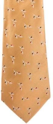 Kiton Silk Patterned Tie