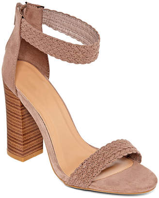 Bamboo Womens Faith 55 Heeled Sandals