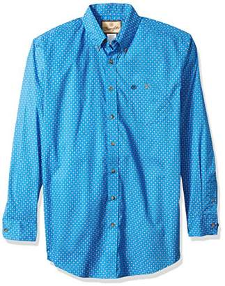 Wrangler Men's Big and Tall Western Classic One Pocket Shirt