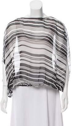 Rachel Zoe Oversize Striped Top