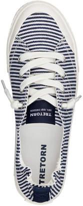 Tretorn Meg Metallic Striped Low-Top Sneakers