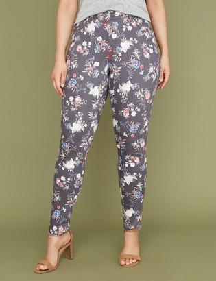 Lane Bryant Super Stretch Skinny Jean - Garden Floral Print