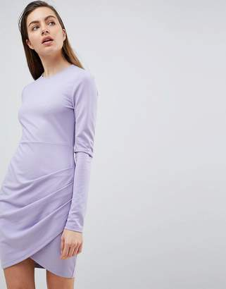 Ivyrevel Long Sleeved Jersey Dress with Wrap Front