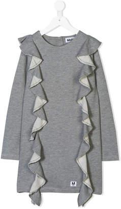 Molo ruffle detail dress