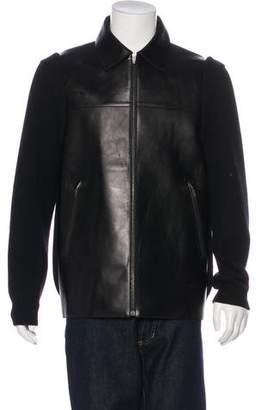 Alexander Wang Lambskin & Lambswool Jacket w/ Tags