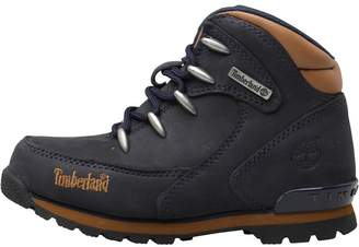 Timberland Infant Boys Euro Rock Hiker Boots Mid Blue