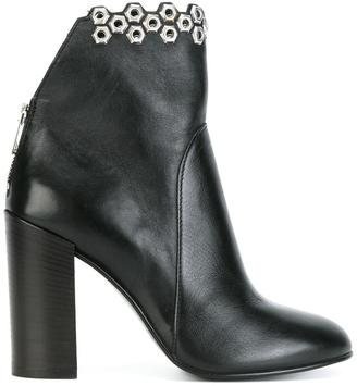 Diesel embellished ankle boots $332.19 thestylecure.com