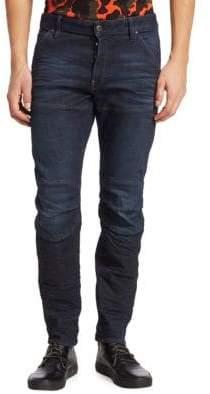G Star 3D Skinny Seamed Jeans