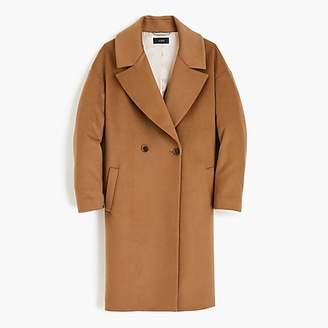 J.Crew Relaxed topcoat in Italian wool-cashmere