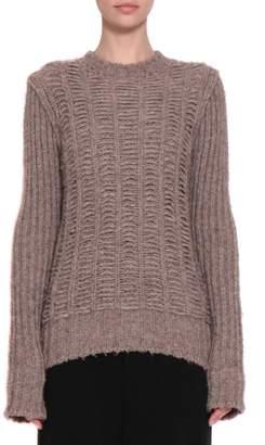 Rick Owens Chunky Biker Wool Sweater