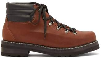 Montelliana - Tom Lace Up Leather Boots - Mens - Tan