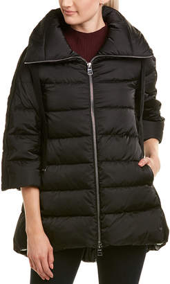 Herno Contrast Sleeve Puffer Down Jacket
