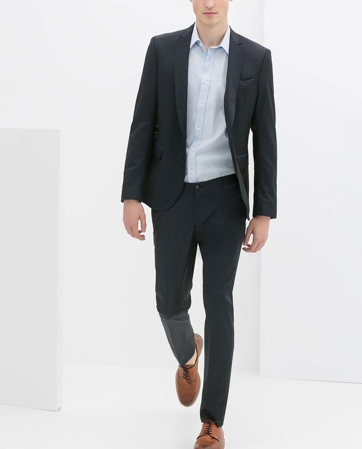 Zara Blue Suit