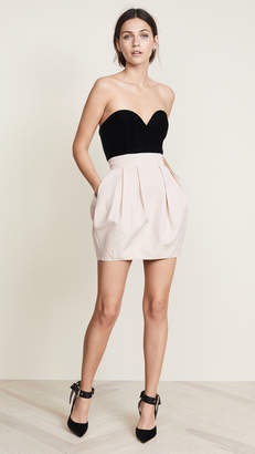 Vatanika Strapless Bustier Dress