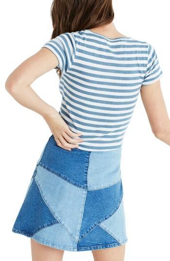 Women's Madewell Piper Linguini Stripe Tee 4