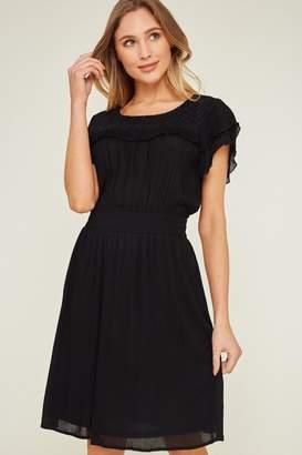 Llove Usa Dainty Black Dress