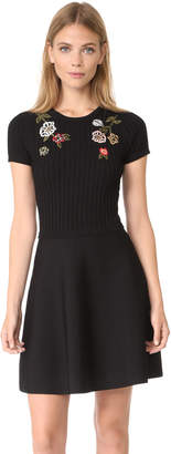 RED Valentino Embroidered Dress $750 thestylecure.com