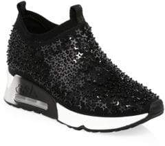 Ash Lightning Star Sequined Sneakers