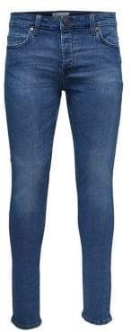 ONLY & SONS Faded Skinny Jeans