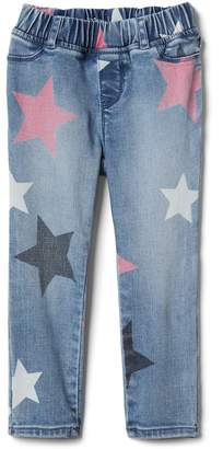 Gap Favorite Jeggings in Star Print with High Stretch