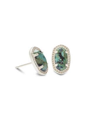 Kendra Scott Emery Stud Earrings in Silver