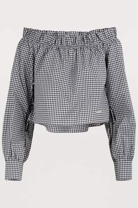 Miu Miu Off shoulder top