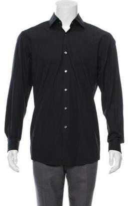 HUGO BOSS Boss by French Cuff Slim Fit Shirt