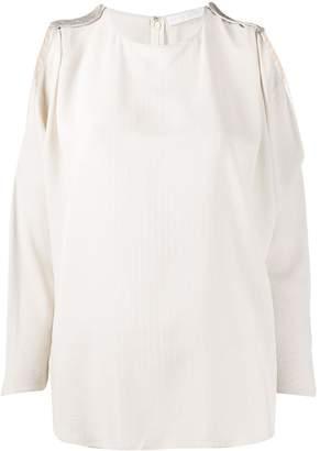 Fabiana Filippi cut-out shoulder blouse