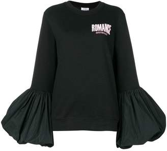 Brognano loose flared sweatshirt