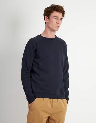 Folk Rivet Sweatshirt Navy