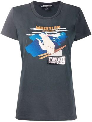 Pinko polar bear print T-shirt