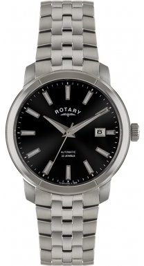 Rotary ロータリー Mens Date Display Watch GB02810-04