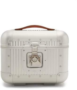 Fabbrica Pelletterie Milano - Stud Embellished Grooming Case - Mens - Silver
