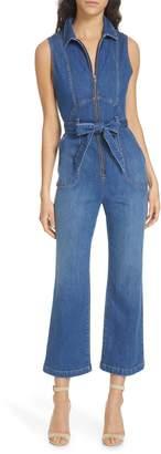 Alice + Olivia Jeans Gorgeous Denim Jumpsuit