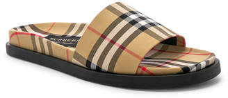 Burberry Sandal in Antique Yellow | FWRD