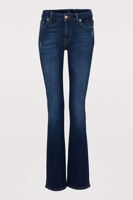 7 For All Mankind Kimmie straight-cut jeans
