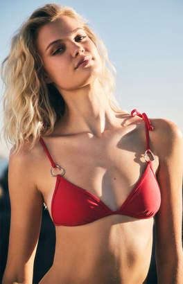 Delilah Forget Me Not Triangle Bikini Top