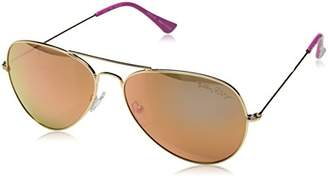 Lilly Pulitzer Women's Lexy Polarized Aviator Sunglasses