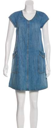 Chanel Paris-Dallas Denim Dress