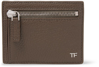 TOM FORD Full-Grain Leather Cardholder $390 thestylecure.com