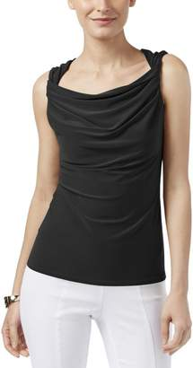 Anne Klein Womens Twisted Sleeveless Pullover Top XL