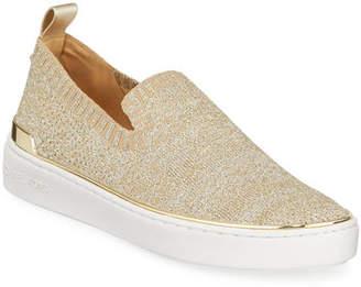 537d247dd329 MICHAEL Michael Kors Gold Women s Sneakers - ShopStyle