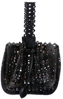 Alaia Vienne Laser Cut Bucket Bag