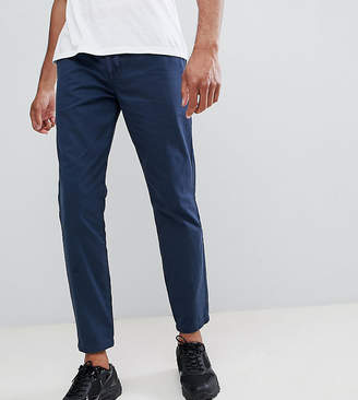 D-Struct TALL Elastic Waist Cropped Chino Pants