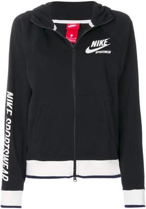 Nike Archive zipped hoodie