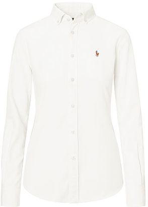 Polo Ralph Lauren Slim Fit Cotton Oxford Shirt $98.50 thestylecure.com