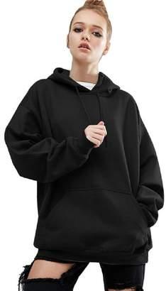 Teresamoon Clearance Sale Women Long Sleeve Hoodie Sweatshirt Casual Coat (M, )