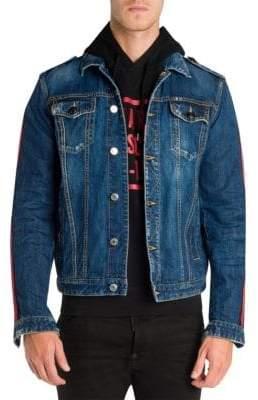 DSQUARED2 Dan Distressed Denim Jacket