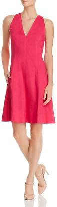 Elie Tahari Selene Fit-and-Flare Dress
